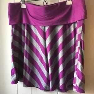 Chevron Full Skirt